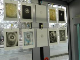 www.la-galerie.ch - Dodécaèdre divers états dans tram de LA GALERIE mobile